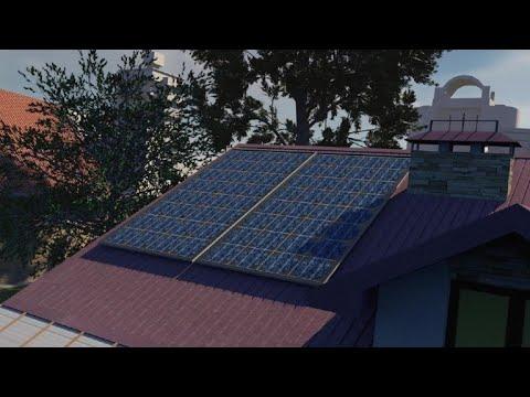 Solar panels | AFP