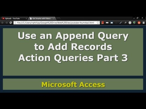 Append Query