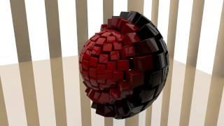 Кубическая сфера CINEMA 4D