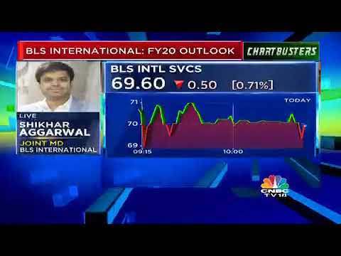 BLS International JMD Mr. Shikhar Aggarwal In An Interview With CNBCTV18 NEWS