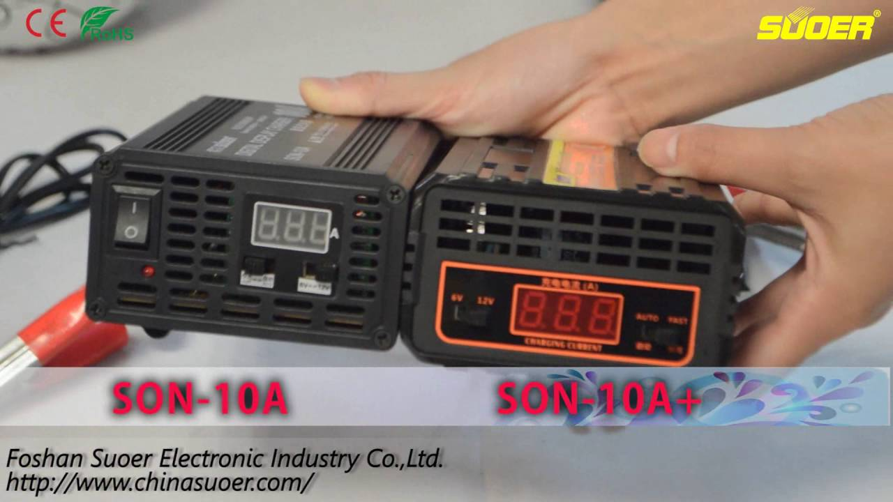 Suoer New Fast Battery Charger 6v 12v 24v 10a 20a With Led Screen Automatic Circuit Diagram Displayson Youtube