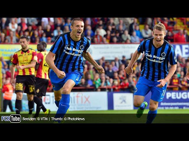 2014-2015 - Jupiler Pro League - 05. KV Mechelen - Club Brugge 3-1