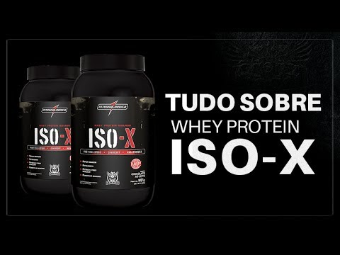 81a3eee2f Iso-x Whey protein isolado Integralmedica - YouTube