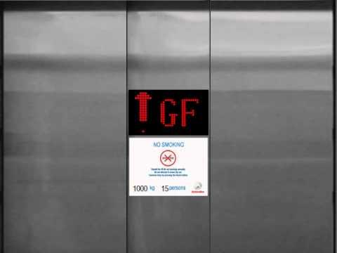 (Animated) Brand New Schindler Parking Elevator at Pluit Village, Jakarta