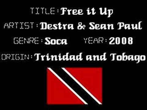 Destra Garcia & Sean Paul - Free it up - Trinidad Soca Music