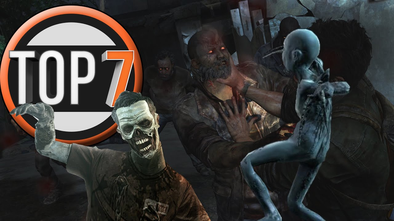 top 7 totally not zombies in games youtube
