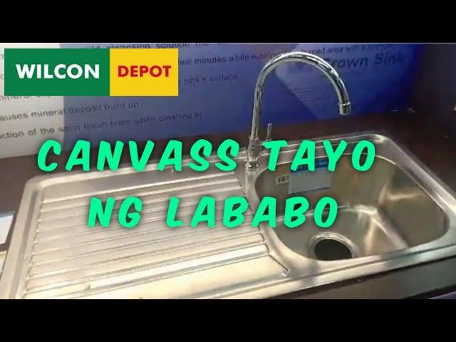 Kitchen Sink Prices Lababo Wilcon Depot Part 3 4 Emz Amita Youtube