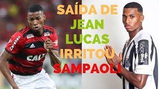 Venda de Jean Lucas causa mal-estar no Santos e Flamengo ainda espera por Filipe Luís