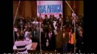 we are the world 日本語 英語 歌手名付き full ver usa for africa