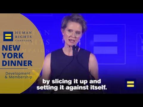 Cynthia Nixon on Trump: