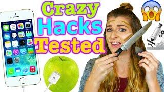 Testing Crazy Life Hacks! Katie Betzing
