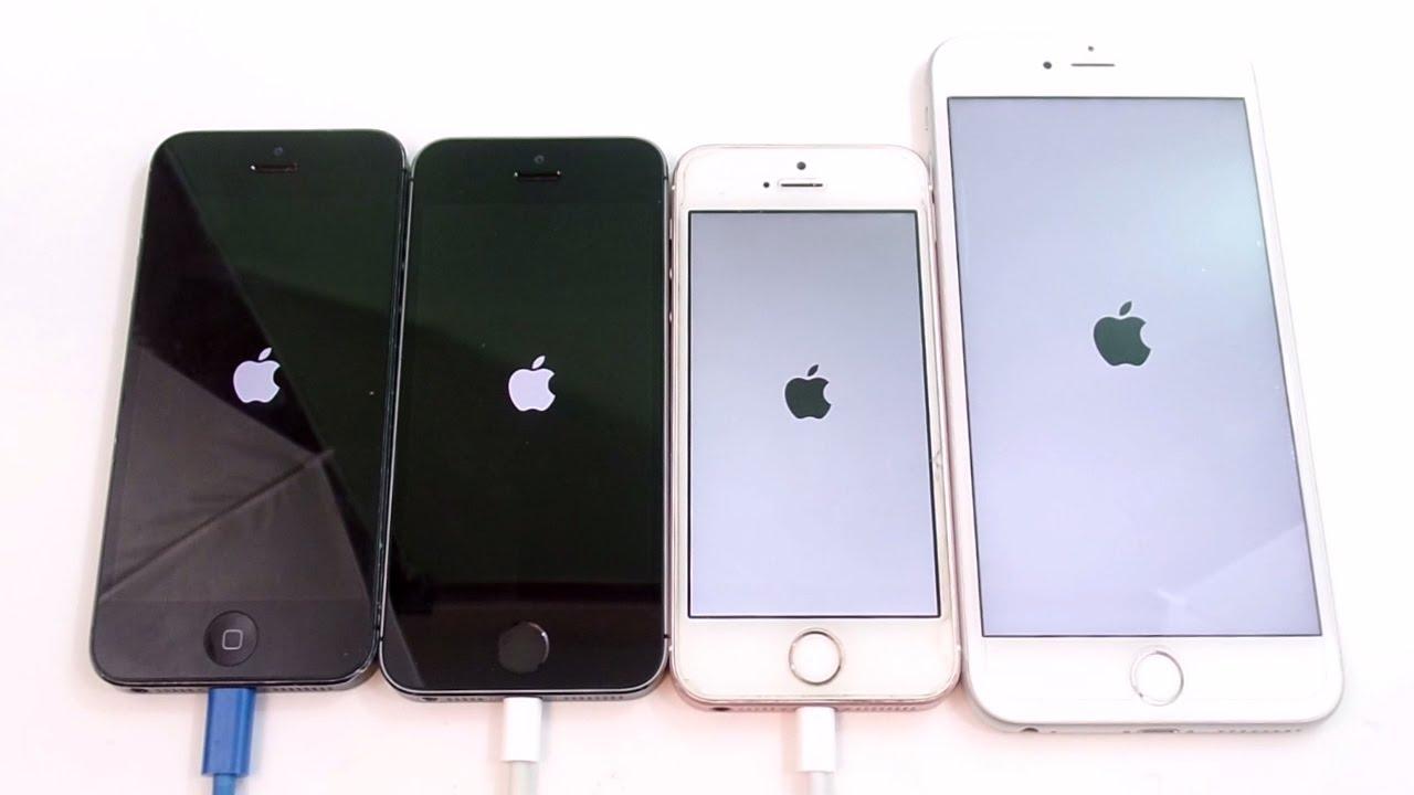 iphone se vs iphone 5s vs iphone 6s