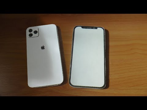 Как сделать модель IPhone 11 (PRO MAX) из бумаги.  How To Make IPhone 11 Pro Max From Cardboard