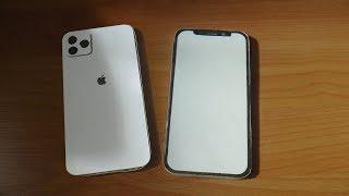 Как сделать модель iPhone 11 (PRO MAX) из бумаги. Paper IPhone 11 Pro Max