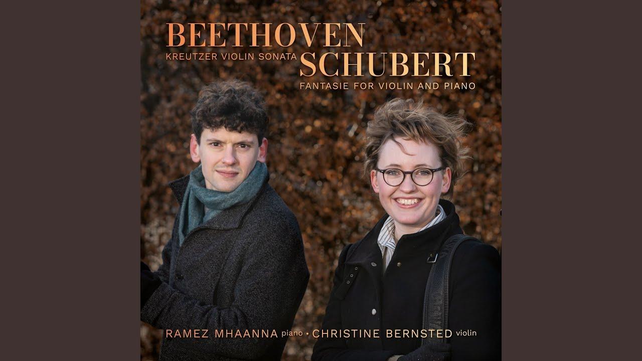 """Sonata for Violin and Piano No. 9 in A major, Op. 47 """"Kreutzer Sonata"""": I. Adagio sostenuto -..."""