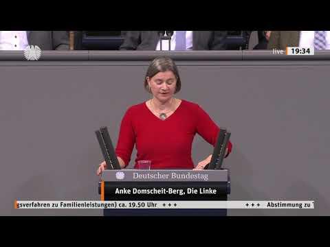 Anke Domscheit-Berg, DIE LINKE: Digitale Familienleistungen - Gute Idee, schlecht umgesetzt