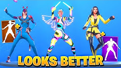 Fortnite Dances & Emotes Looks Better With These Skins #2 (Chapter 2 Season 2 Lynx)