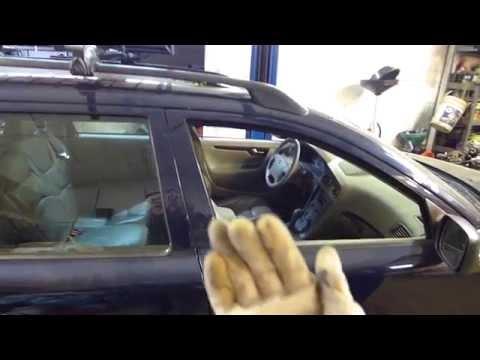 2006 Pontiac Torrent Fixing A Leaking Sunroof Funnydog Tv