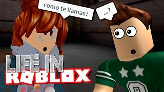 THE GIRL FINALLY ME SPEAKS | LIFE IN | ROBLOX ROLEPLAY SPANISH | EP. 3