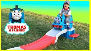 Step2 THOMAS THE TANK ENGINE Up u0026 Down Roller Coaster