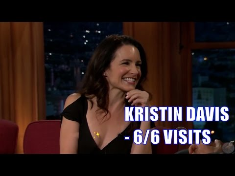 Kristin Davis - More Beautiful, More Attractive, Funnier, Than You Think - 6/6 Visits In Chro. Order