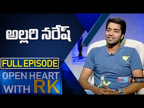Actor Allari Naresh | Open Heart with RK | Full Episode | ABN Telugu