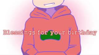 【手描き】Blessing【六つ子誕生祭】