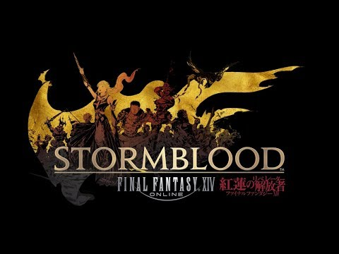 FFXIV Stormblood Early Access - Red Mage! Duty Finder is now working