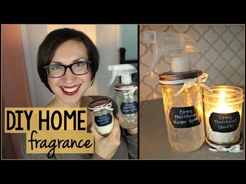 DIY Room Fragrance and Candle