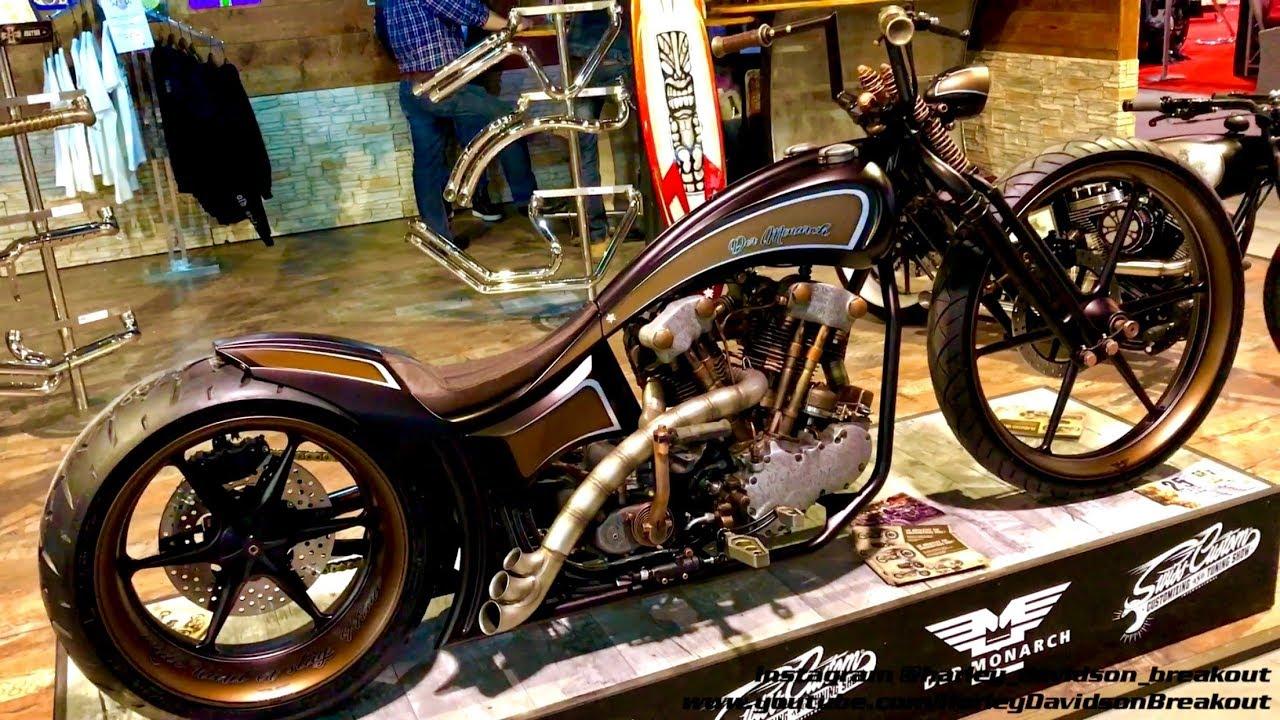 Harley-Davidson Best Custom Motorcycle Fair in Zurich/Switzeland (Swiss Moto 2018)