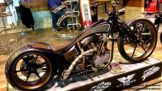 Harley-Davidson Best Custom Motorcycle Fair in Zurich/Switzeland (Swiss Moto 2018)