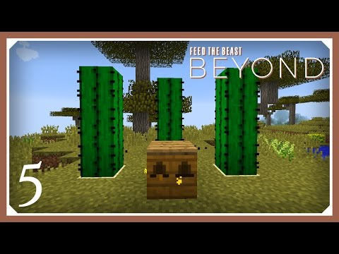 FTB Beyond | Starting Forestry Bees! | E05 (Modded Minecraft 1.10.2 Survival Let's Play)