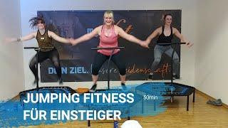 Jumping Fitness für Einsteiger - Grundübungen mit Erklärung - 50min