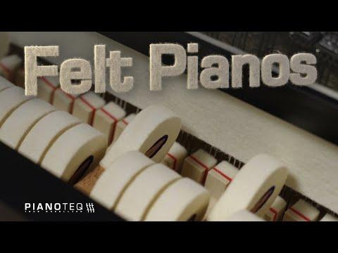Felt presets for Pianoteq, demonstration by Jamie Blake