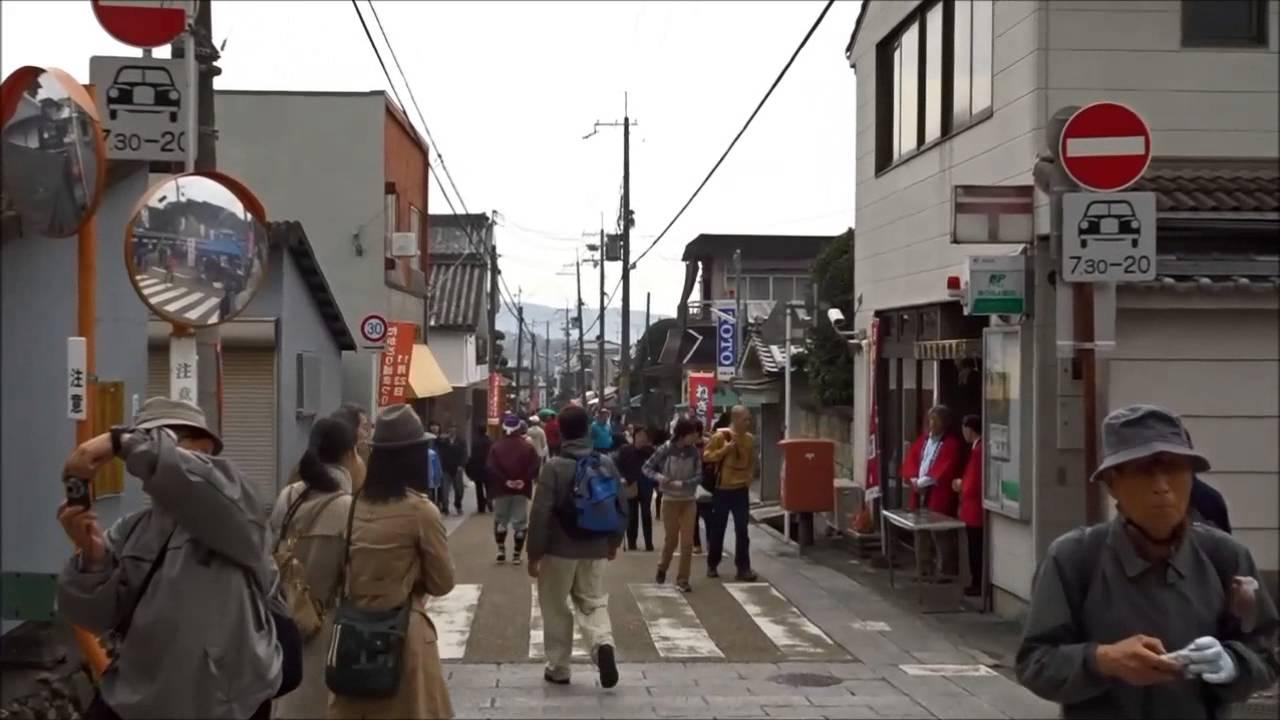 151123たかとりお城まつりの町中 - YouTube