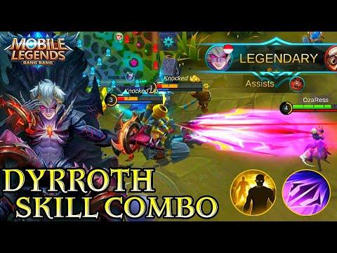 Dyrroth Skill Combo