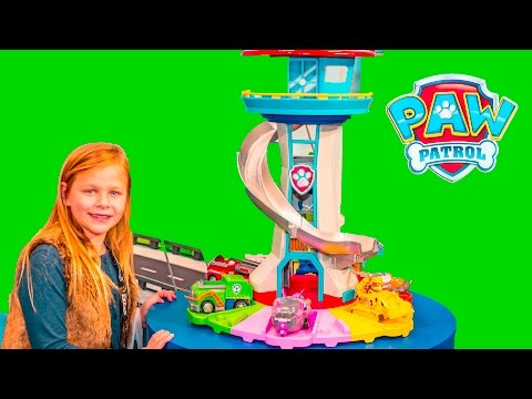 PAW PATROL Nickelodeon My Size Lookout and Paw Patrol Sea Patroller New Toys Video