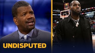 Trust between Lakers & LeBron has been 'damaged' - Rob Parker   NBA   UNDISPUTED