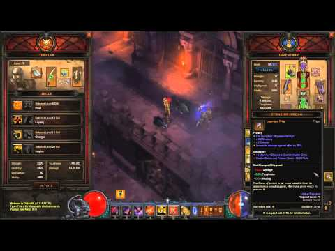 Diablo 3 RoS - 50% Damage Reduction with 2 Unity Rings + Follower Unqiue