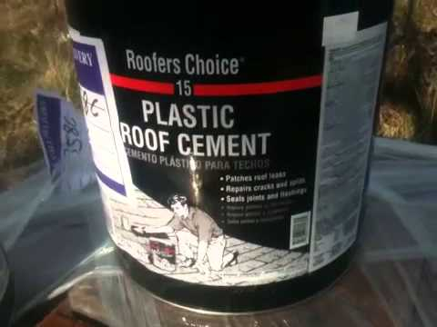Delightful Roof Cement Foundation Coating   YouTube