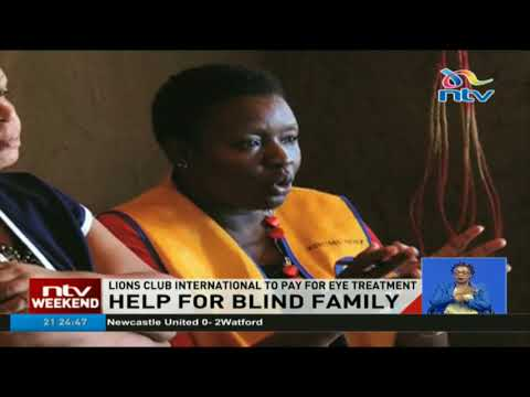 Lions Club International to pay for Ahero family's eye treatment