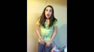 Girl having to go pee