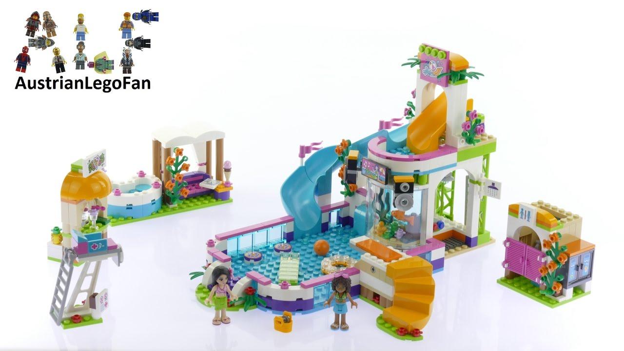 Lego Friends 41313 Heartlake Summer Pool Lego Speed