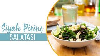 Bol Yeşillikli Siyah Pirinç Salatası Nasıl Yapılır? I Salata Tarifi