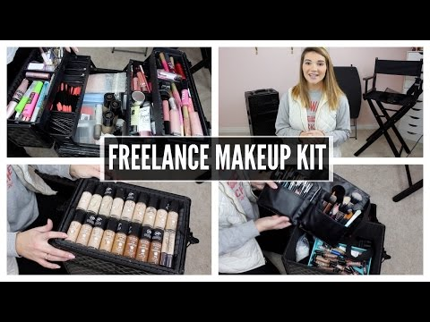 My Freelance Makeup Kit | Brooklyn Nicole