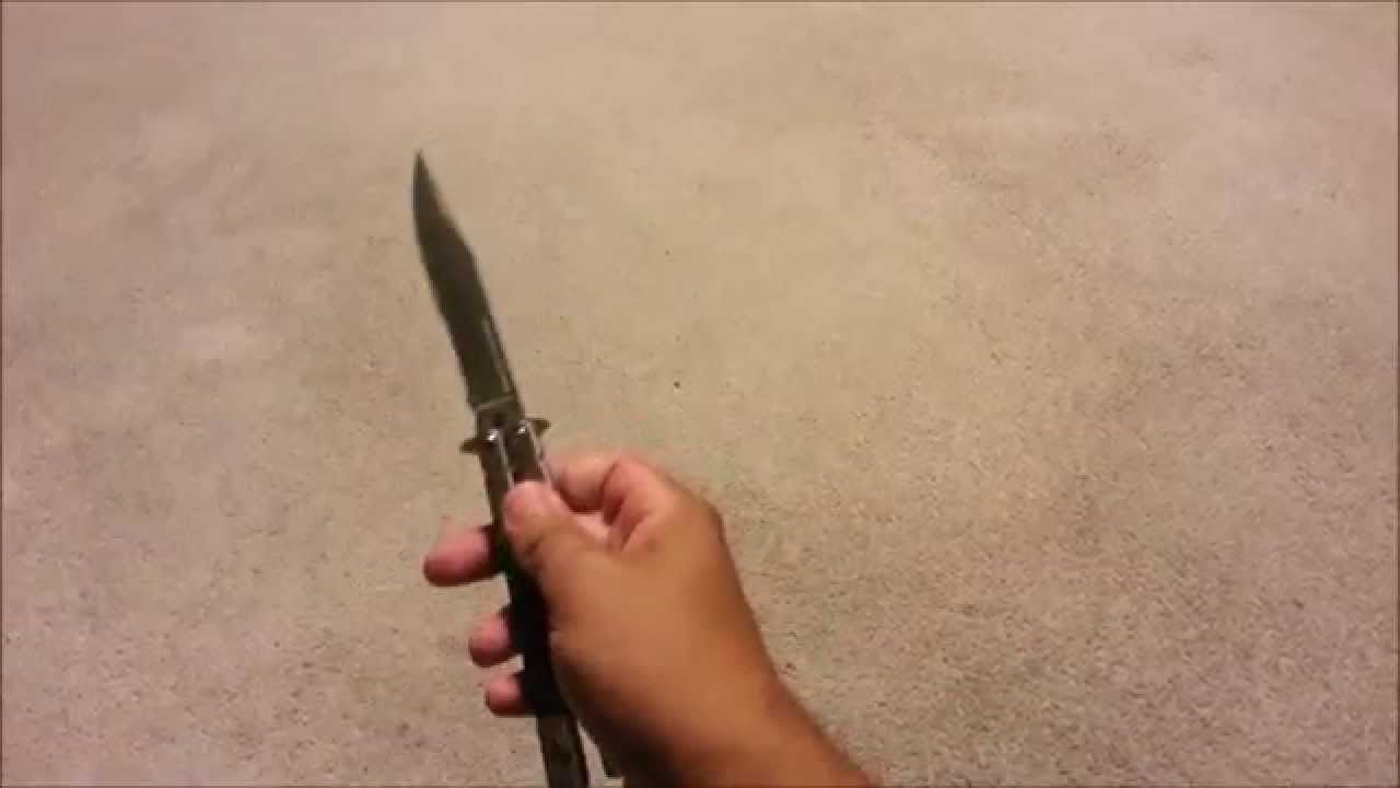 Intermediate Butterfly Knife Trick Youtube