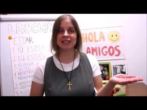 Hola amigos - 13. lekce španělštiny s misionářkou