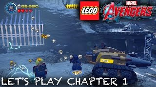 Let's Play Lego Marvel's Avengers Part 1