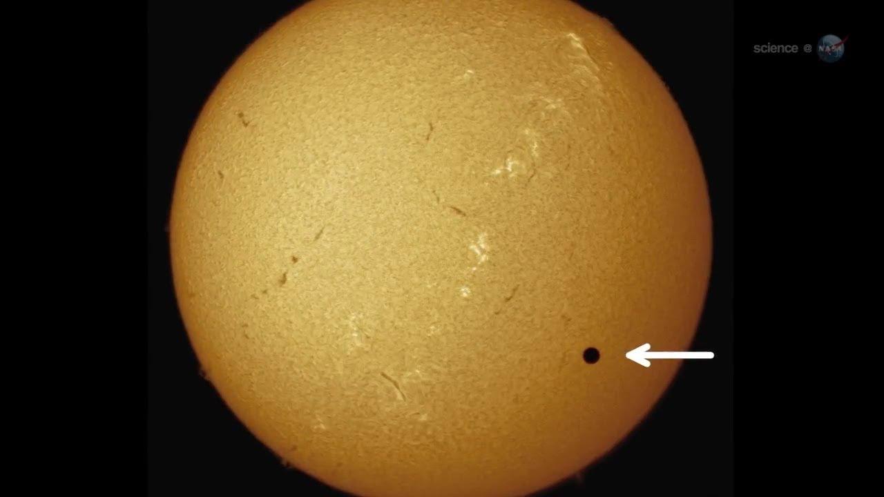 2012 Transit of Venus | HD Video NASA - YouTube