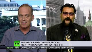 Twitter bans: 'Intentional blocking' v 'Division doesn't come from social media' (DEBATE)
